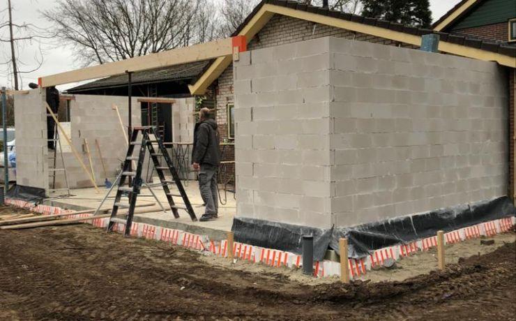 Verbouwing Aalbers